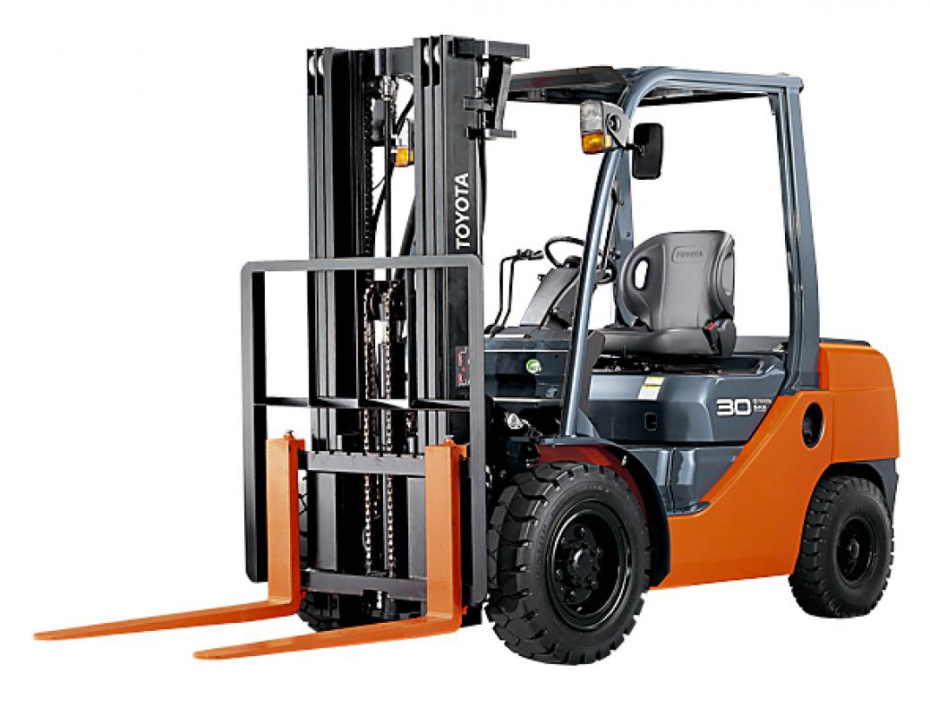 Thermal and electric counterweight trucks